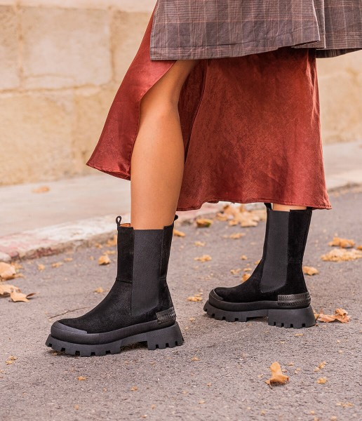 Ankle boot with side elastics - Margot