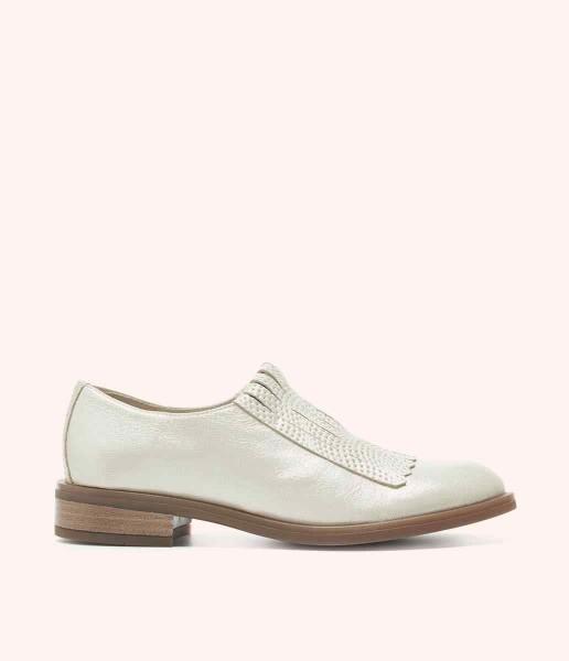 Flat shoe with fringe - Jane