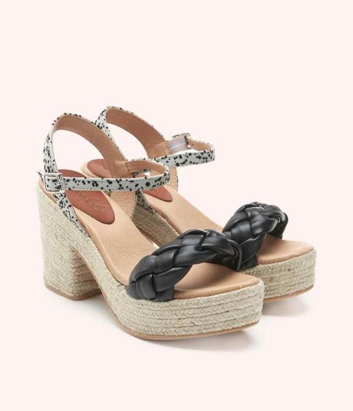 Padded platform sandal - Ariadna