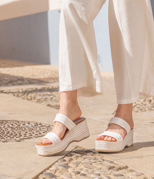 Platform sandal with padded straps - Dora