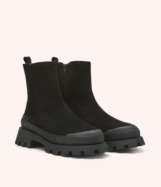 Ankle boot with side zip sole - Gabrielle