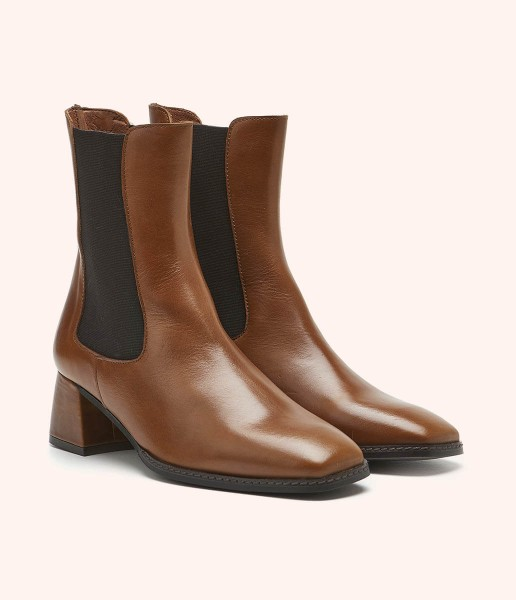 Ankle boots with elasticated sides - Manuela